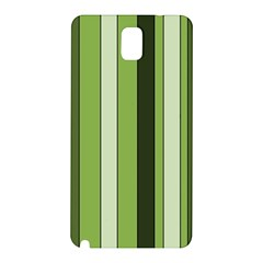 Greenery Stripes Pattern 8000 Vertical Stripe Shades Of Spring Green Color Samsung Galaxy Note 3 N9005 Hardshell Back Case