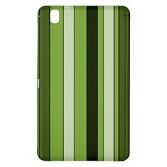 Greenery Stripes Pattern 8000 Vertical Stripe Shades Of Spring Green Color Samsung Galaxy Tab Pro 8.4 Hardshell Case