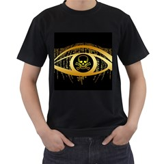 Virus Computer Encryption Trojan Men s T-Shirt (Black)