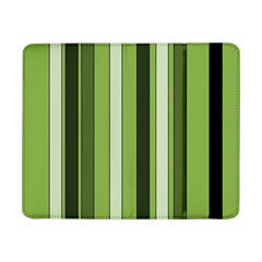 Greenery Stripes Pattern 8000 Vertical Stripe Shades Of Spring Green Color Samsung Galaxy Tab Pro 8.4  Flip Case
