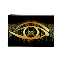 Virus Computer Encryption Trojan Cosmetic Bag (Large)