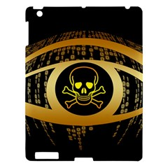 Virus Computer Encryption Trojan Apple iPad 3/4 Hardshell Case