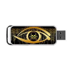 Virus Computer Encryption Trojan Portable USB Flash (Two Sides)