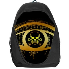 Virus Computer Encryption Trojan Backpack Bag