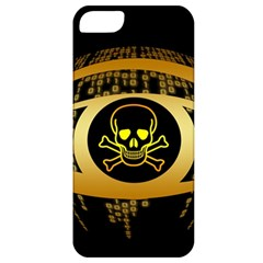 Virus Computer Encryption Trojan Apple iPhone 5 Classic Hardshell Case