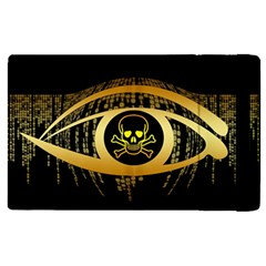 Virus Computer Encryption Trojan Apple iPad 3/4 Flip Case