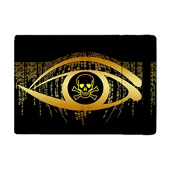 Virus Computer Encryption Trojan Apple iPad Mini Flip Case