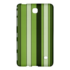 Greenery Stripes Pattern 8000 Vertical Stripe Shades Of Spring Green Color Samsung Galaxy Tab 4 (7 ) Hardshell Case