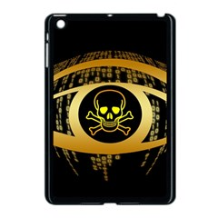 Virus Computer Encryption Trojan Apple iPad Mini Case (Black)