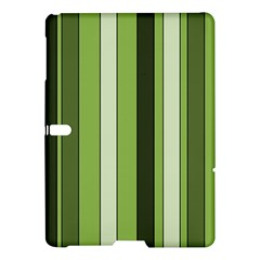 Greenery Stripes Pattern 8000 Vertical Stripe Shades Of Spring Green Color Samsung Galaxy Tab S (10.5 ) Hardshell Case