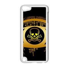 Virus Computer Encryption Trojan Apple iPod Touch 5 Case (White)