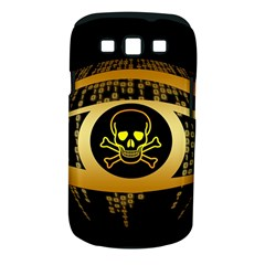 Virus Computer Encryption Trojan Samsung Galaxy S III Classic Hardshell Case (PC+Silicone)