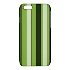 Greenery Stripes Pattern 8000 Vertical Stripe Shades Of Spring Green Color iPhone 6/6S TPU Case