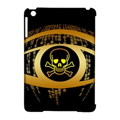Virus Computer Encryption Trojan Apple iPad Mini Hardshell Case (Compatible with Smart Cover)