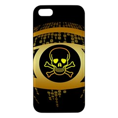 Virus Computer Encryption Trojan Apple iPhone 5 Premium Hardshell Case