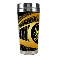 Virus Computer Encryption Trojan Stainless Steel Travel Tumblers