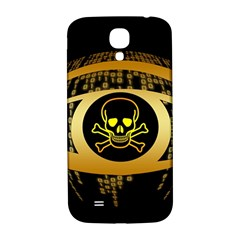 Virus Computer Encryption Trojan Samsung Galaxy S4 I9500/I9505  Hardshell Back Case