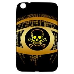 Virus Computer Encryption Trojan Samsung Galaxy Tab 3 (8 ) T3100 Hardshell Case