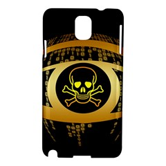 Virus Computer Encryption Trojan Samsung Galaxy Note 3 N9005 Hardshell Case
