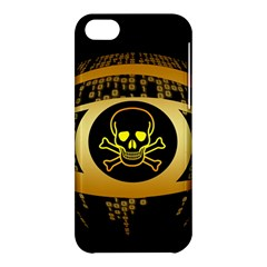 Virus Computer Encryption Trojan Apple iPhone 5C Hardshell Case