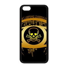 Virus Computer Encryption Trojan Apple iPhone 5C Seamless Case (Black)