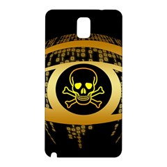 Virus Computer Encryption Trojan Samsung Galaxy Note 3 N9005 Hardshell Back Case