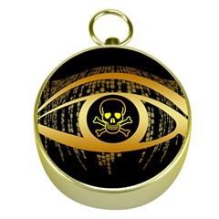 Virus Computer Encryption Trojan Gold Compasses