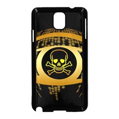 Virus Computer Encryption Trojan Samsung Galaxy Note 3 Neo Hardshell Case (Black)