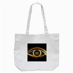 Virus Computer Encryption Trojan Tote Bag (White)