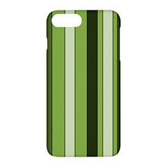 Greenery Stripes Pattern 8000 Vertical Stripe Shades Of Spring Green Color Apple iPhone 7 Plus Hardshell Case