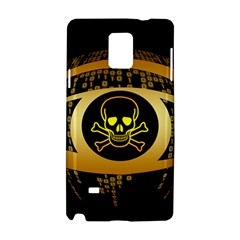 Virus Computer Encryption Trojan Samsung Galaxy Note 4 Hardshell Case