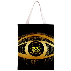 Virus Computer Encryption Trojan Classic Light Tote Bag