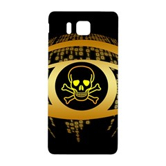 Virus Computer Encryption Trojan Samsung Galaxy Alpha Hardshell Back Case