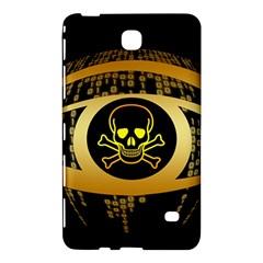 Virus Computer Encryption Trojan Samsung Galaxy Tab 4 (8 ) Hardshell Case