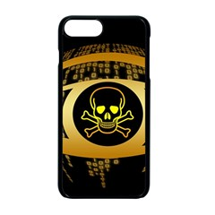 Virus Computer Encryption Trojan Apple iPhone 7 Plus Seamless Case (Black)