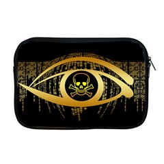 Virus Computer Encryption Trojan Apple MacBook Pro 17  Zipper Case