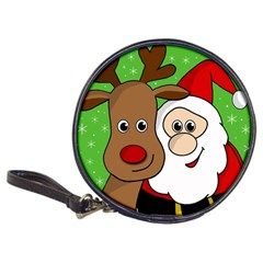 Rudolph and Santa selfie Classic 20-CD Wallets