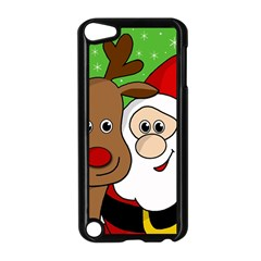 Rudolph And Santa Selfie Apple Ipod Touch 5 Case (black)