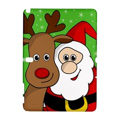 Rudolph and Santa selfie Galaxy Note 1