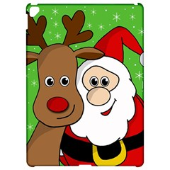 Rudolph And Santa Selfie Apple Ipad Pro 12 9   Hardshell Case
