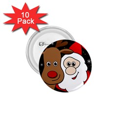 Xmas selfie 1.75  Buttons (10 pack)