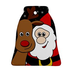 Xmas selfie Bell Ornament (2 Sides)