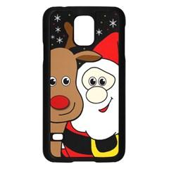 Xmas selfie Samsung Galaxy S5 Case (Black)