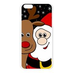 Xmas selfie Apple Seamless iPhone 6 Plus/6S Plus Case (Transparent)
