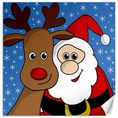 Christmas selfie Canvas 16  x 16