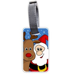 Christmas selfie Luggage Tags (Two Sides)