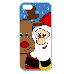 Christmas selfie Apple Seamless iPhone 5 Case (Color)