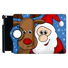 Christmas selfie Apple iPad 2 Flip 360 Case