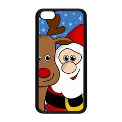 Christmas selfie Apple iPhone 5C Seamless Case (Black)