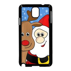 Christmas selfie Samsung Galaxy Note 3 Neo Hardshell Case (Black)